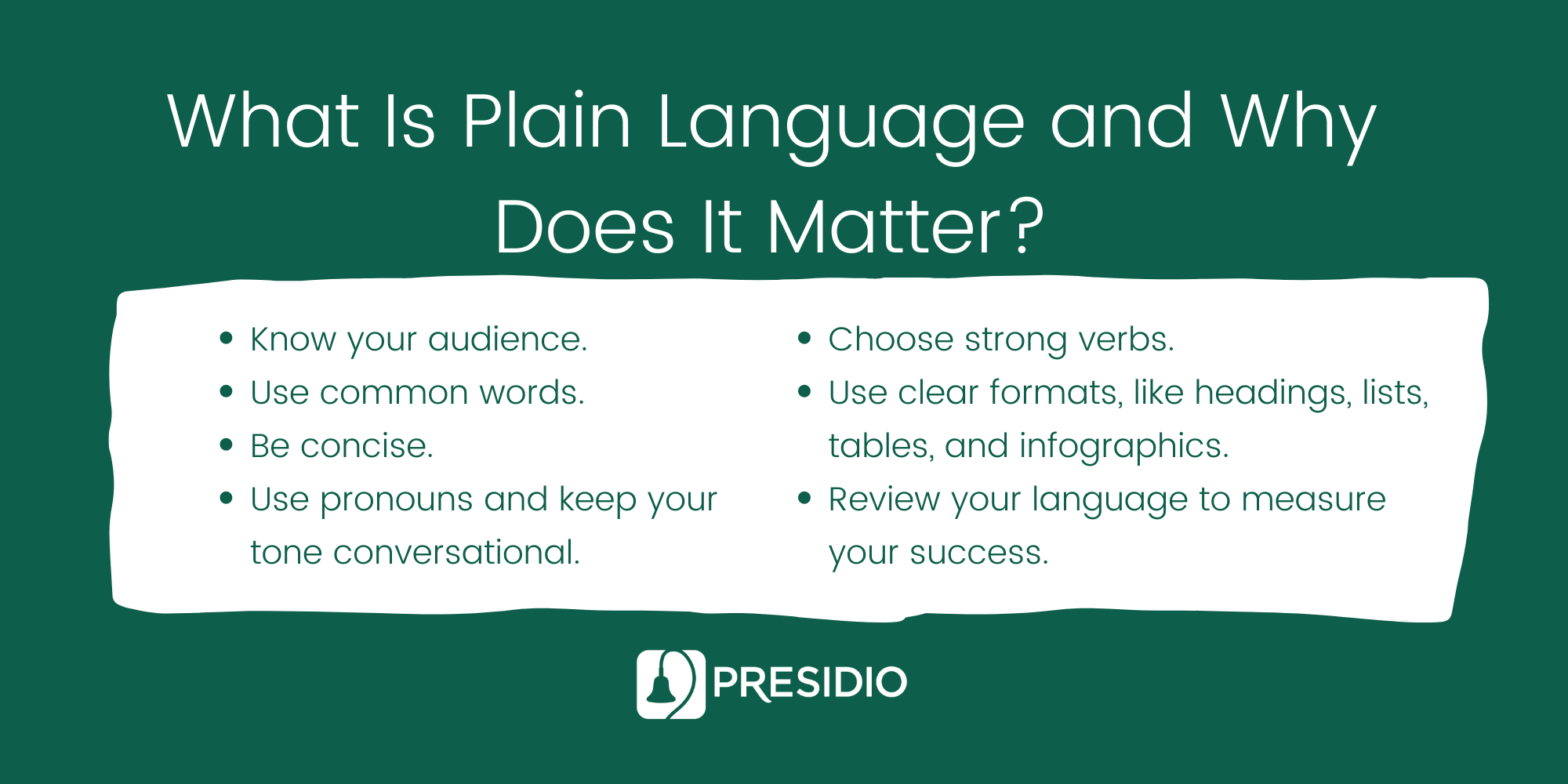 What Is Plain Language and Why Does It Matter?